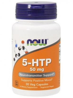 NOW 5-HTP 50mg. 30 кап.