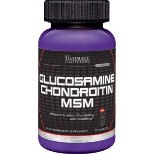 Ultimate Nutrition Glucosamine & Chondroitin & MSM 90 таб.