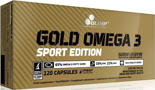 Olimp Labs Gold Omega 3 Sport Edition (1000 мг, 120 кап.)