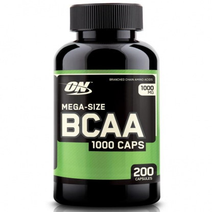 Optimum Nutrition BCAA 1000mg 200 кап.