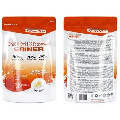 King Protein Mass Gainer 900гр.