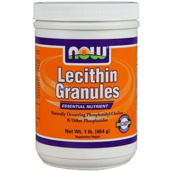 NOW Lecithin Granules (Лецитин) 454гр/1Lb