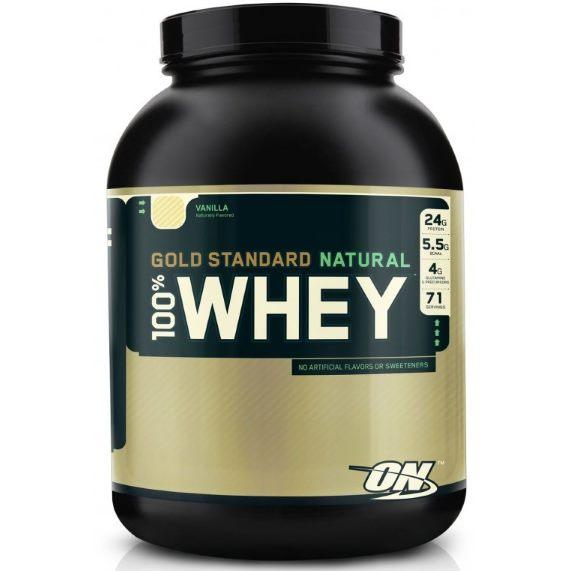 Optimum Nutrition 100% Whey Gold Standard Natural 2180 гр.