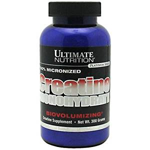 Ultimate Nutrition 100% Micronized Creatin Monohydrate 300 гр.