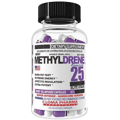 Cloma Pharma Methyldrene-25 Elite 100 cap