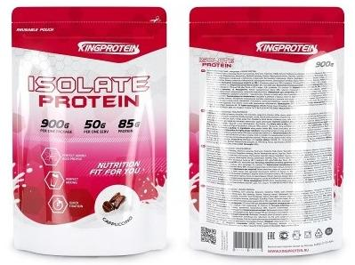 King Protein Isolate Protein 900гр.