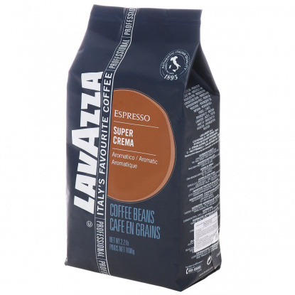 "Кофе ""Lavazza"" Super Crema, 1000г зерновой"