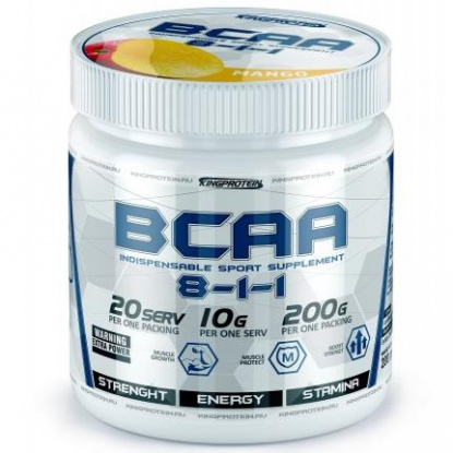 King Protein BCAA (8-1-1) 200гр.