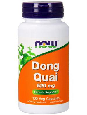 NOW Dong Quai 520mg. 100 кап.