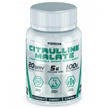 King Protein Citrulline Malate (Цитруллус) 100гр