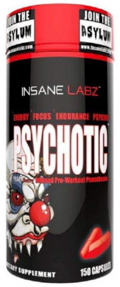 InsaneLabz Psychotic 150 капсул