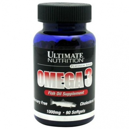 Ultimate Nutrition Omega 3 (1000mg) 90 кап.