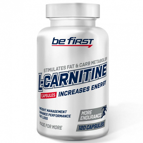 Be First L-carnitine (л-карнитин) 700 мг. 60 кап.