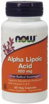 NOW Alpha Lipotic Asid 100 мг. 60 кап.