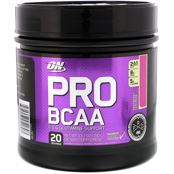 Optimum Nutrition BCAA Pro 390гр.