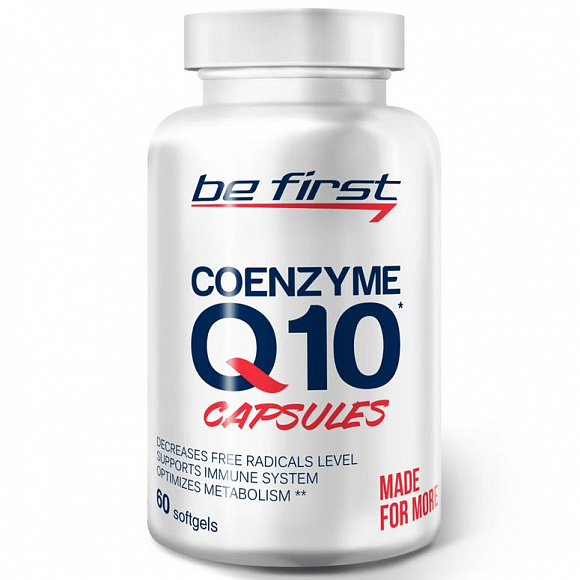Be First Coenzyme Q10 (коэнзим) 60 мг. 60 кап.