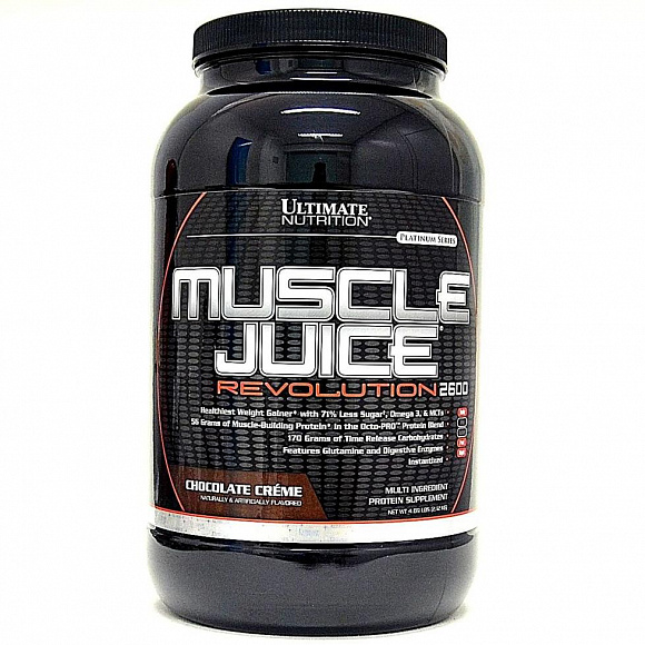 Ultimate Nutrition Muscle Juice Revolution 2600 2120гр.