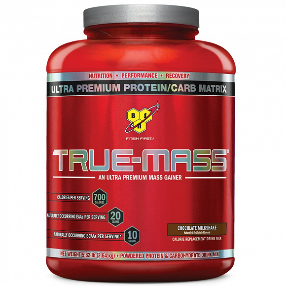 Гейнер BSN True Mass Weight Gainer 2610 гр.