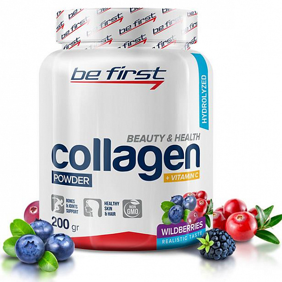 Be First Collagen (коллаген) + vitamin C 200 гр.