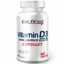 Be First Vitamin D3 60 кап.