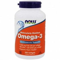 Now Omega-3 Fish Oil 1000mg 120 кап.