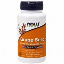 NOW Grape Seed Anti 60mg. 90 кап.