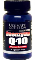 Ultimate Nutrition Coenzyme Q10 30 кап.