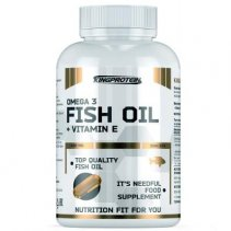 King Protein Fish Oil + Vit. E, 90 капсул