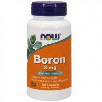NOW Boron (Бор) 3mg. 100 кап.
