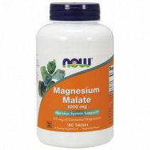 NOW Magnesium Malate 100mg. 180 таб.