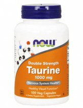 NOW Taurine 1000mg. 100 кап.