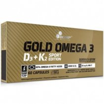 Olimp Labs Gold Omega 3 D3+K2 60 кап.