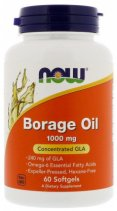 NOW Borage Oil 1000 мг. 60 кап.