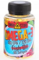 DMAA Store Fish Oil, 60 капсул