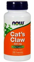 NOW CATs Claw 500mg. 100 кап.