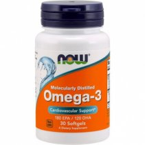 Now Omega-3 Fish Oil 1000 мг. 30 кап.